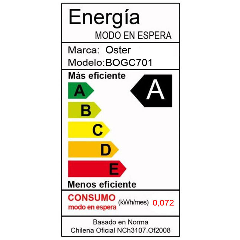 Microondas Oster BOGC701 20 lt