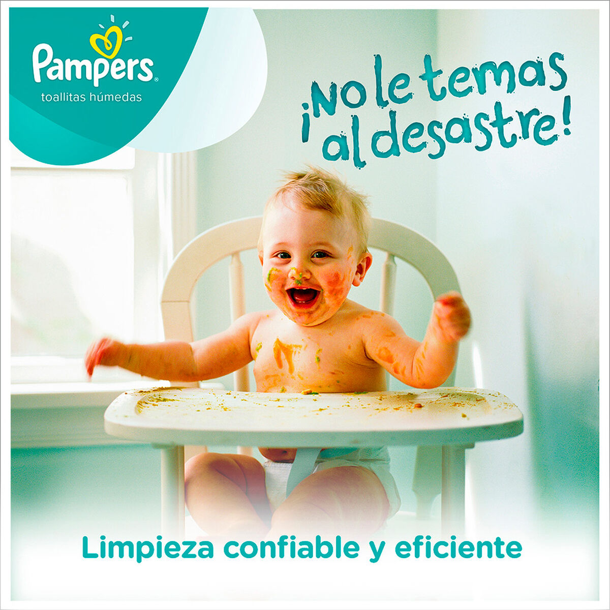 Toallitas húmedas PAMPERS FRESH CLEAN
