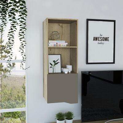 Mueble Alto Auxiliar TuHome Obregon  Duna / Taupe