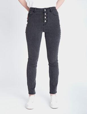 Jeans Indigo Mujer Fiorucci Líneas