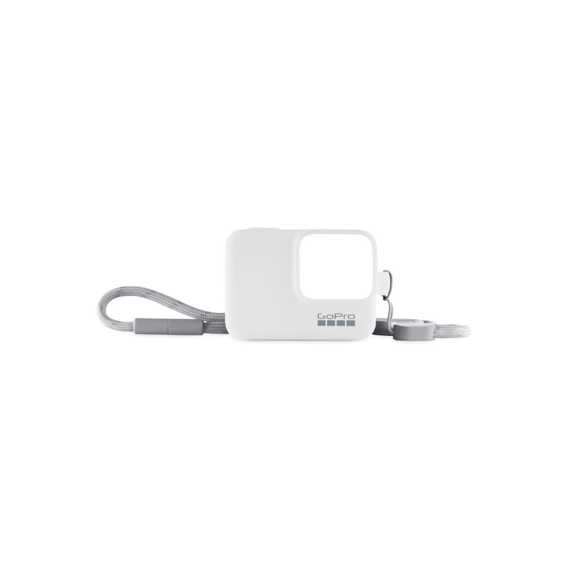 Funda de Silicona + Cordón Blanco para GoPro HERO7