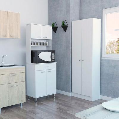 Combo Kitchen 8 Mueble Microondas + Optimizador