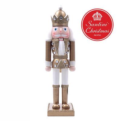 Cascanueces Dorado Santini 30 cm