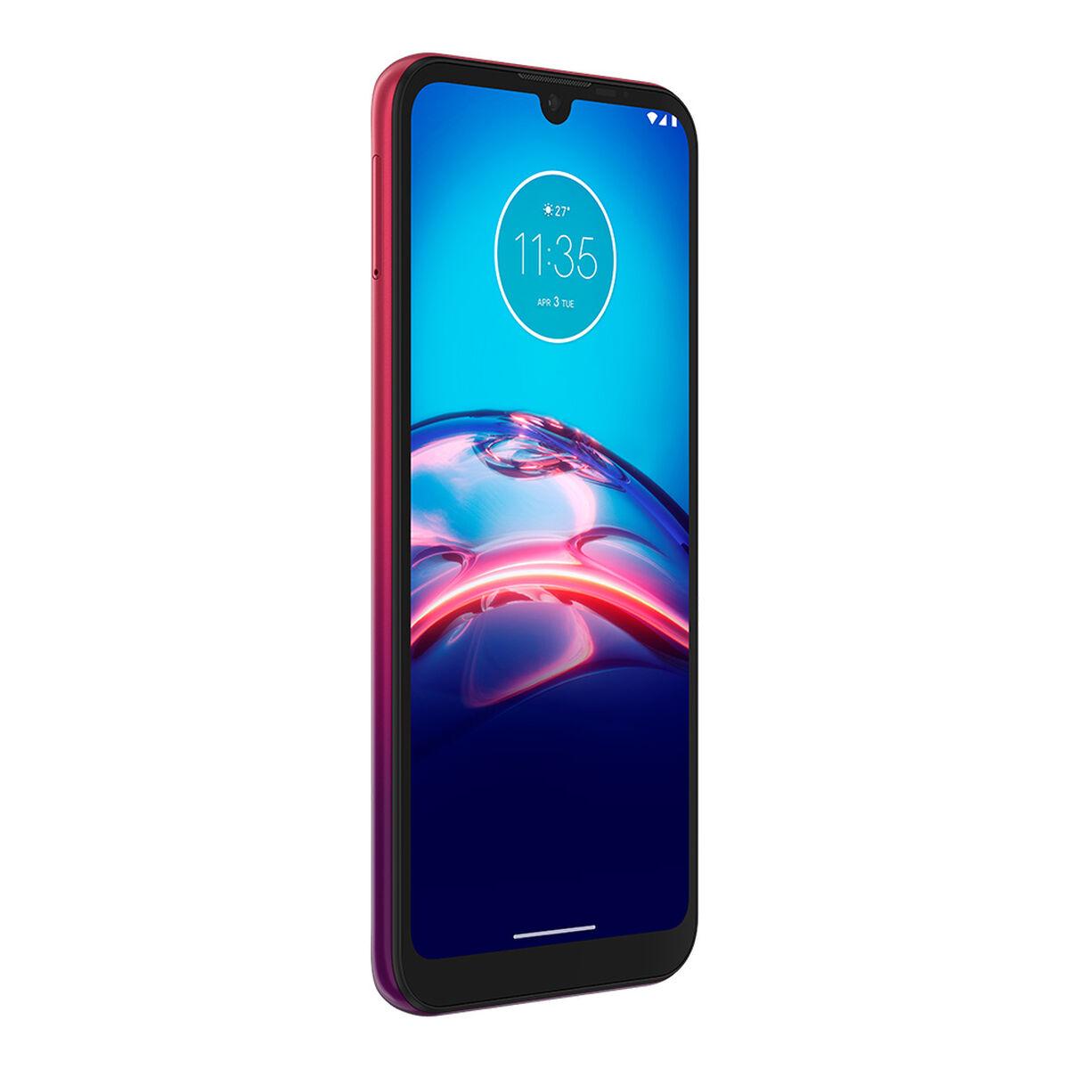 "Celular Motorola E6 S 32GB 6,1"" Rojo Claro"