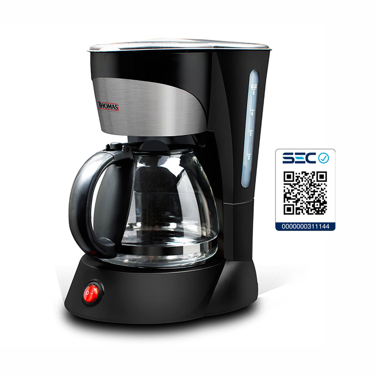 Cafetera Thomas TH-130 750 ml.