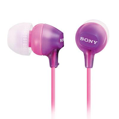 Audífonos Sony MDR-EX15LP Morados