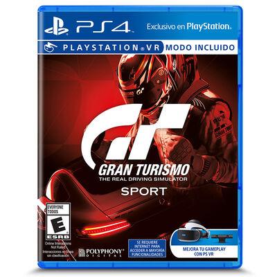 Juego GT Gran Turismo Sport PS4