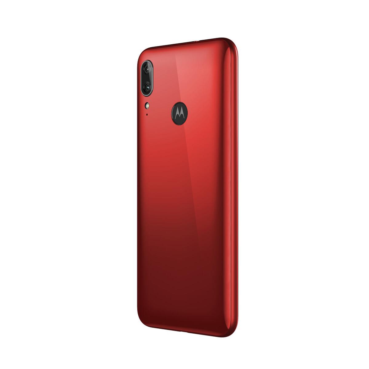"""Celular E6 Plus Motorola 32GB 6.1"""" Bright Cherry WOM"""