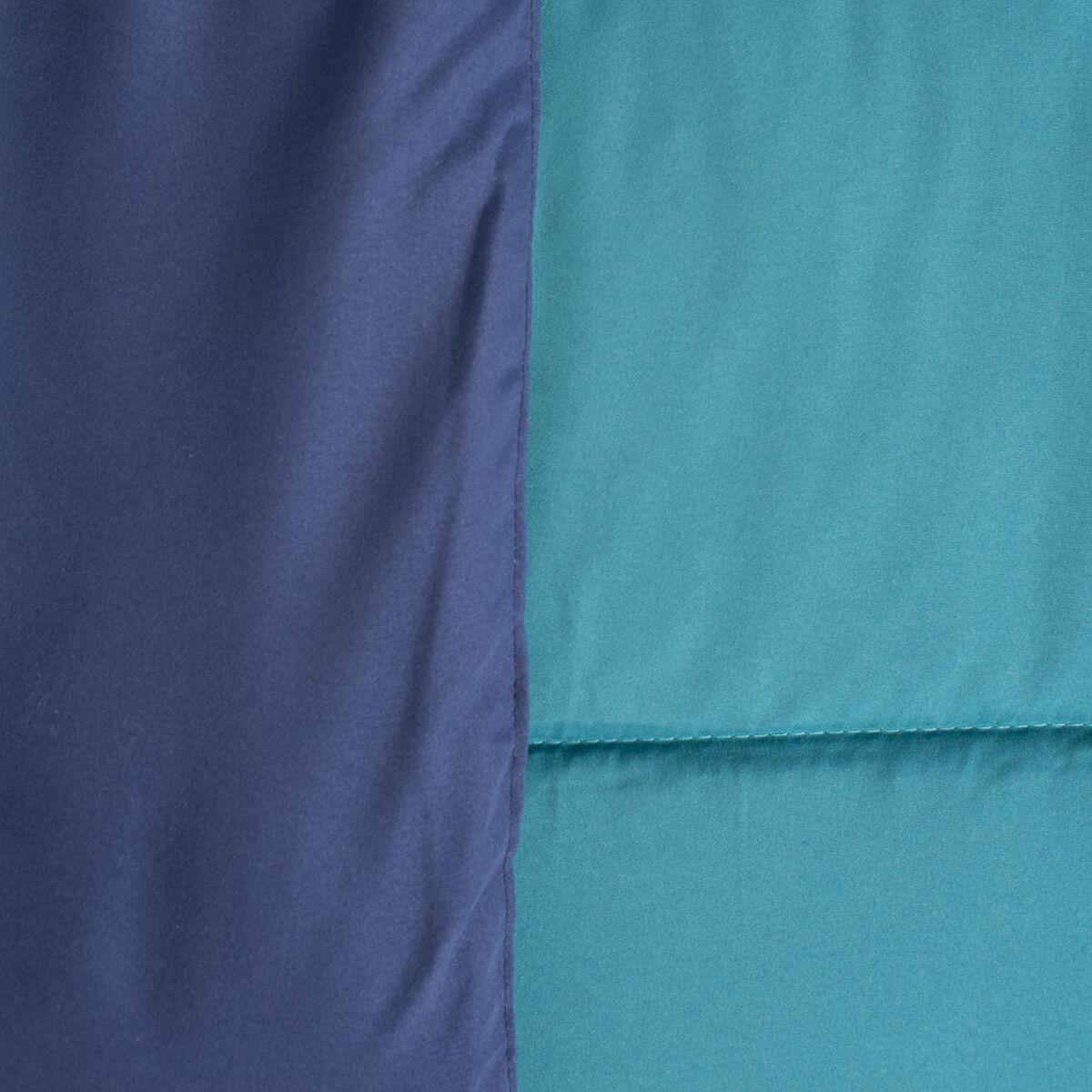 Set Plumón Bicolor + 2 Cojines de 1,5 Plazas