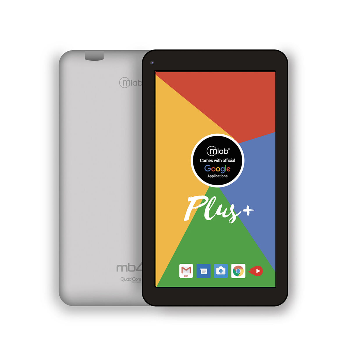 "Tablet Microlab MB4+ Quad Core 1GB 16GB 7"" Gris"