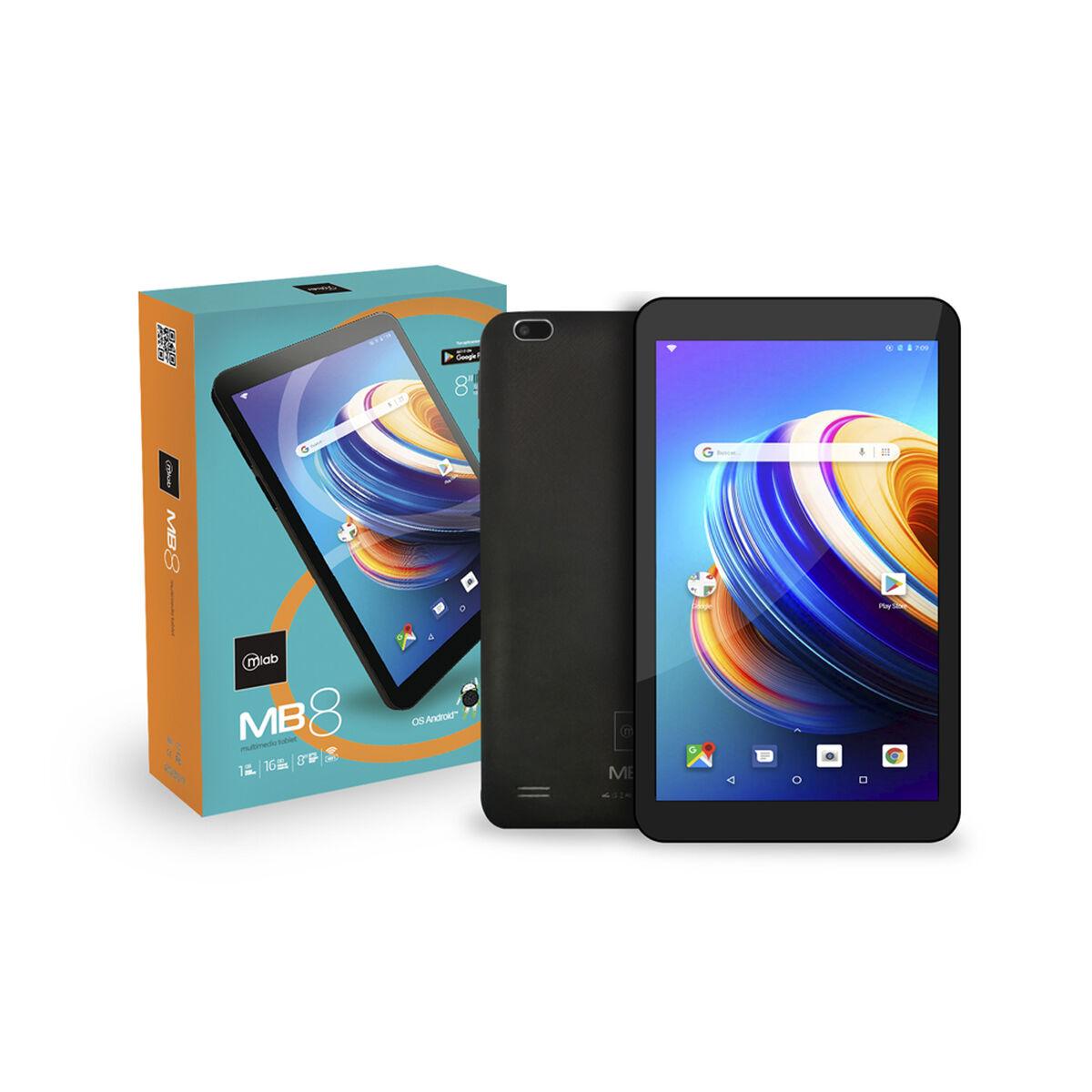 """Tablet Microlab MB8 Quad Core 1GB 16GB 8"""" Negra"""
