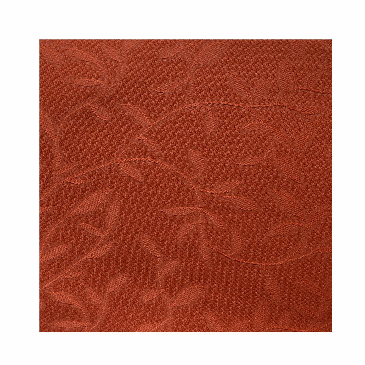 Set Cortinas Jacquard-Presilla 140X220+5 Cm Cerezo Terracota