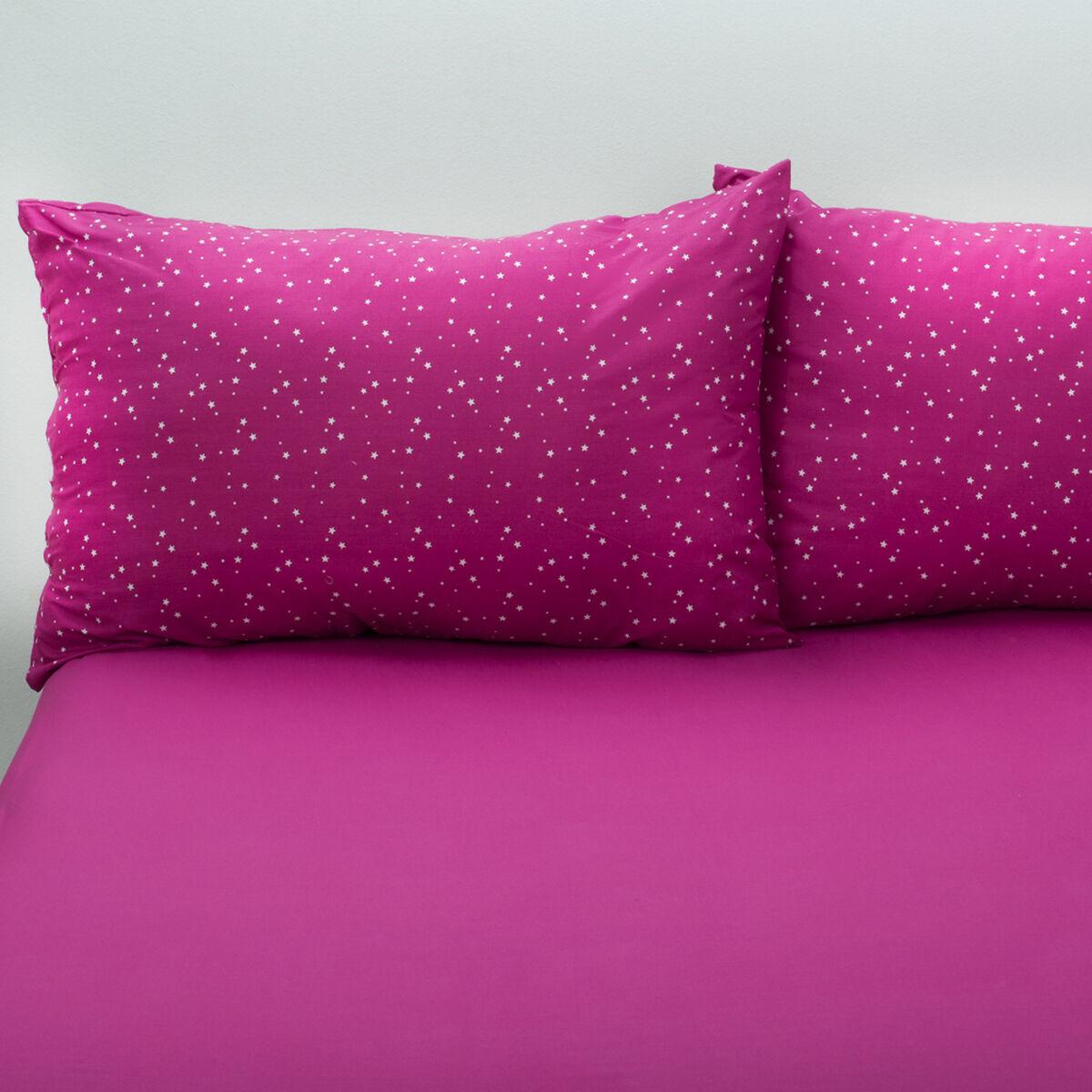 Sábana 144 Hilos Star Pink 2 Plazas