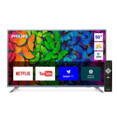 "LED 50"" Philips 50PUD6513 Smart TV Ultra HD 4K"