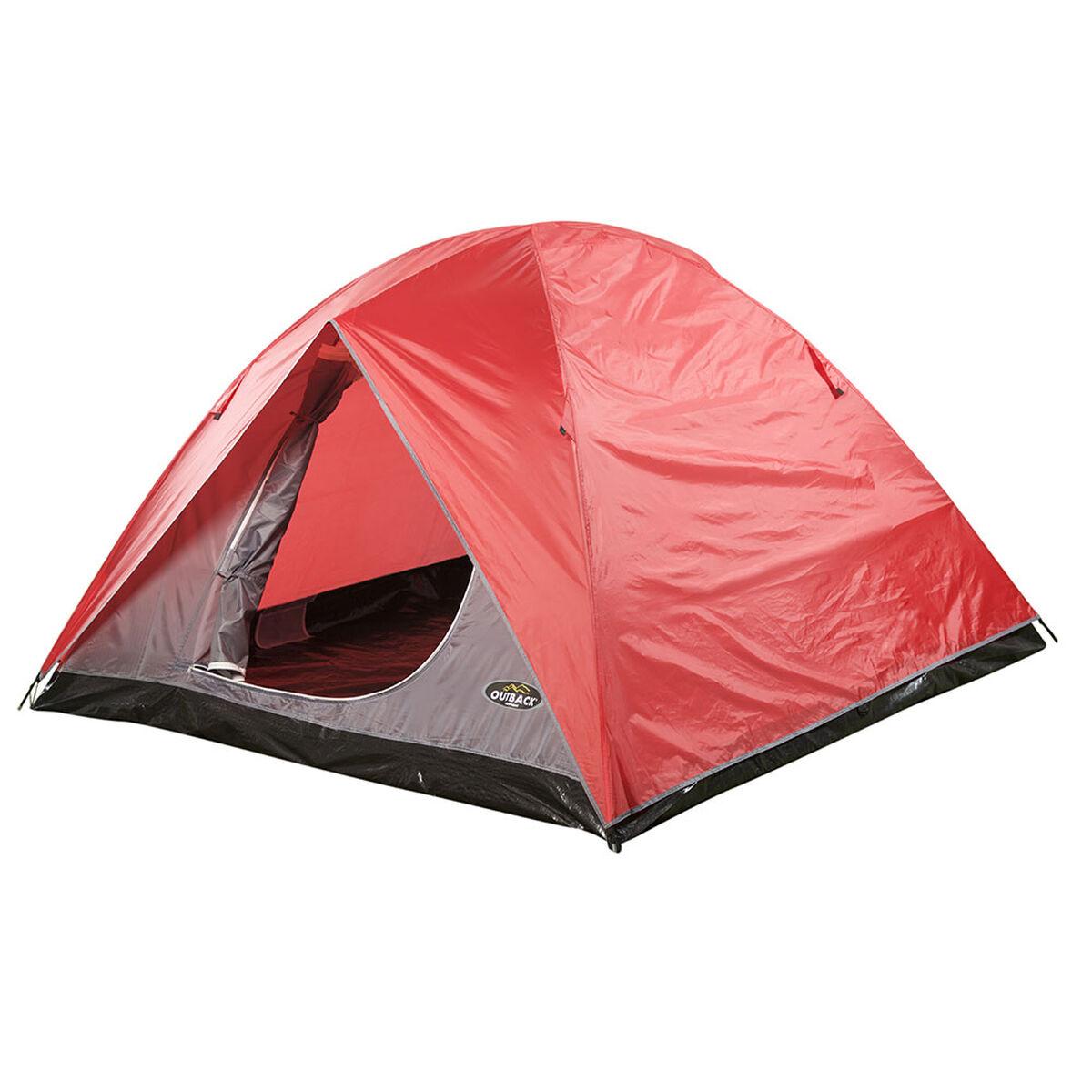 Carpa Outback Himalaya para 4 Personas Rojo