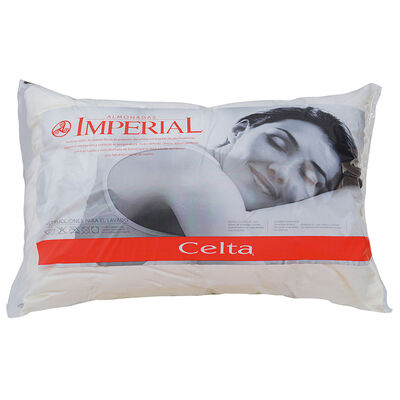 Pack 2 Almohadas Celta Imperial Soft 45 x 65 cm