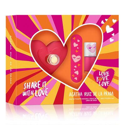 Love Love Love EDT 50 ml + Nail Polish + Lima de uñas