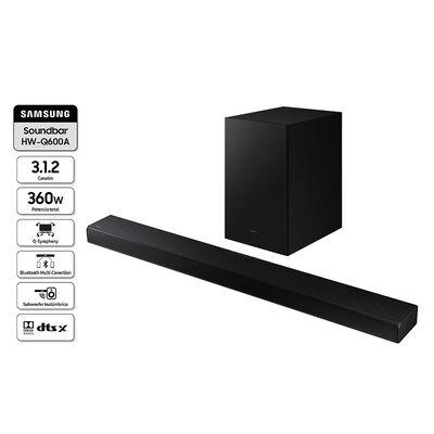Soundbar Samsung HW-Q600AZS Negro