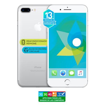 """Celular Apple Iphone 7 Plus 128GB 5.5"""" ReacondicionadoPlata Liberado"""