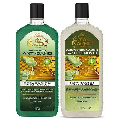 Tío Nacho Pack Aloe Vera 01 Shampoo + 01 Acondicionador