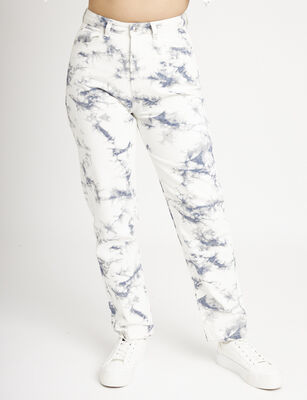 Jeans Mom Mujer Icono