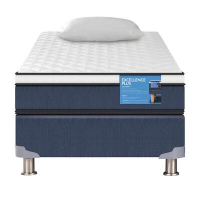 Box Americano 1.5 Plazas Excellence Plus + Almohada