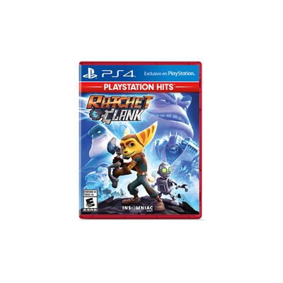 Juego Insomniac PS4 Ratchet y Clank Hits