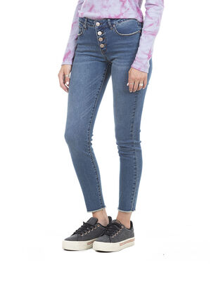 Jeans Medio Mujer Maui