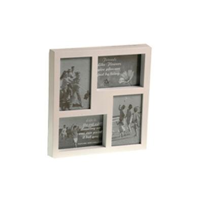 Portaretrato VGO Collage Box 10x15 cm 4 F Blanco