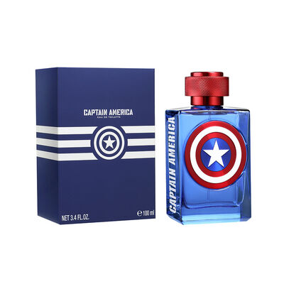 Perfume Hombre Marvel Captain America Edt 100 Ml