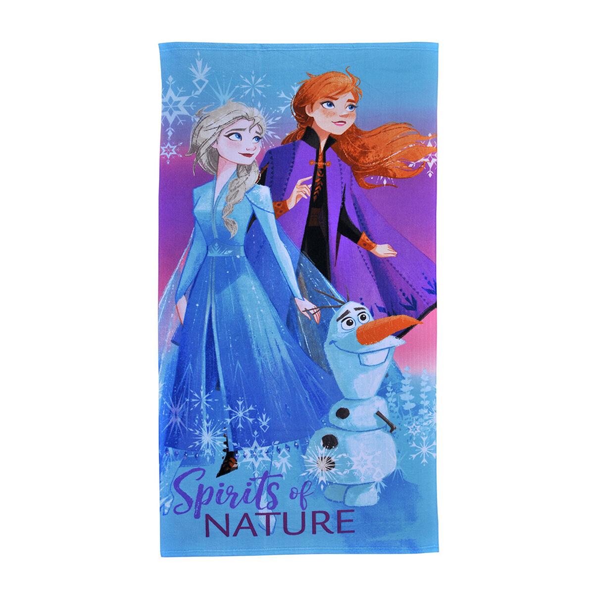 Toalla de Playa con Bolso Disney Frozen 70 x 140 cm
