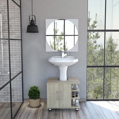 Mueble de Lavamanos + Espejo TuHome Bath 300