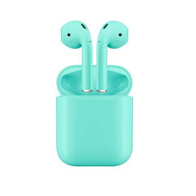 Audífonos Bluetooth RM12 Celestes