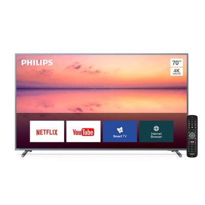 "LED 70"" Philips PUD6774 Smart TV Ultra HD"