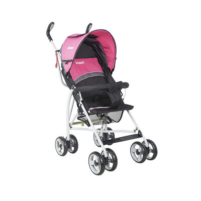 Coche Paragua Spin Black Pink