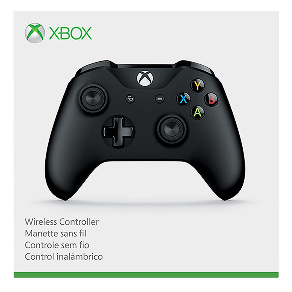Control Inalámbrico Microsoft Xbox One Negro