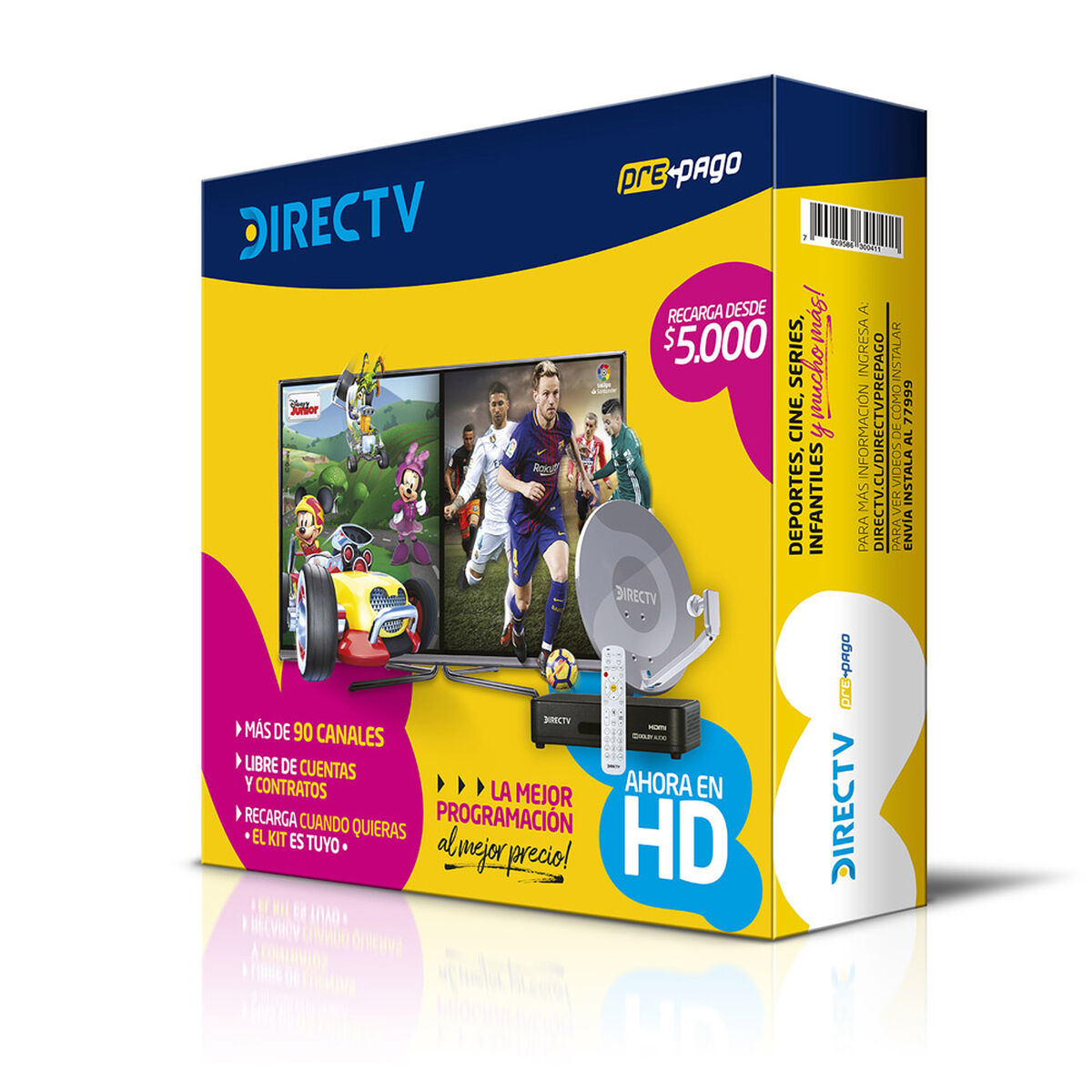 Kit DirecTV Prepago HD