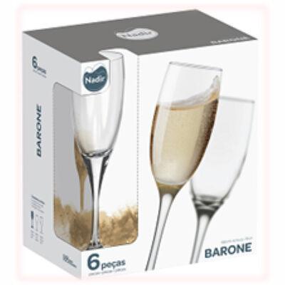 Set 6 Copas de Champagne Barone 195 cc