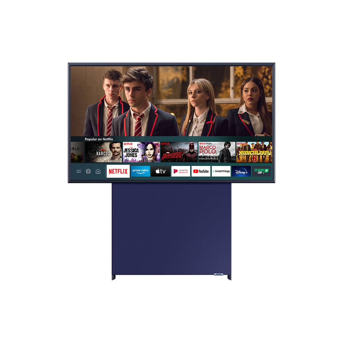 "QLED 43"" Samsung The Sero Smart TV 4K UHD Pantalla Giratoria 2020"