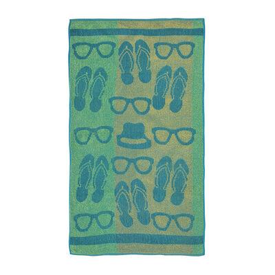 Toalla de Playa Mashini Mix Buzios 68 x 137 cm
