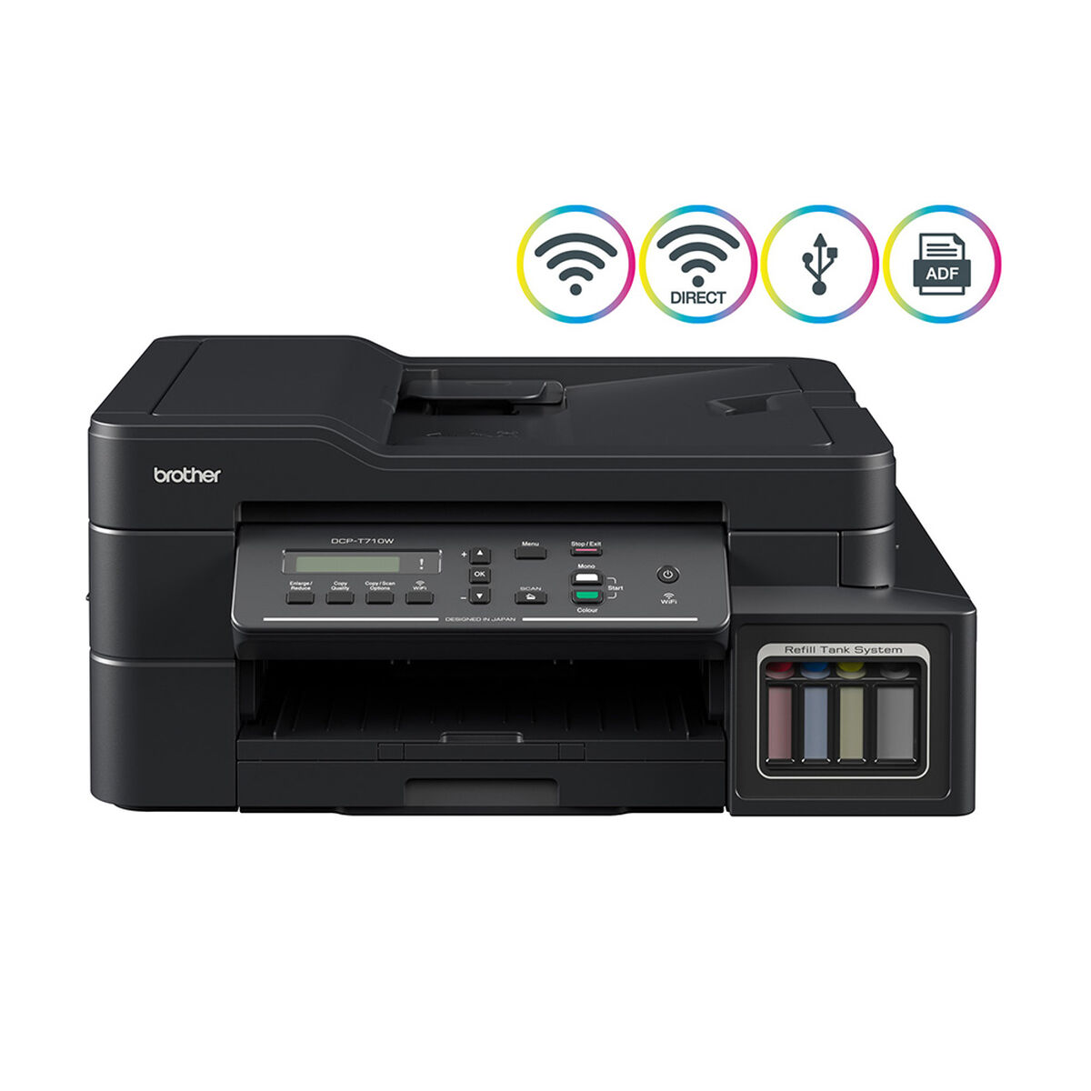 Multifuncional Brother Tinta Continua DCP-T710W WiFi