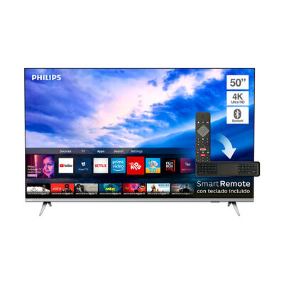 "LED 50"" Philips 50PUD6654 Smart TV 4K Ultra HD Borderless"