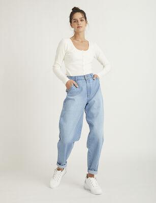 Jeans Slouchy Mujer Zibel