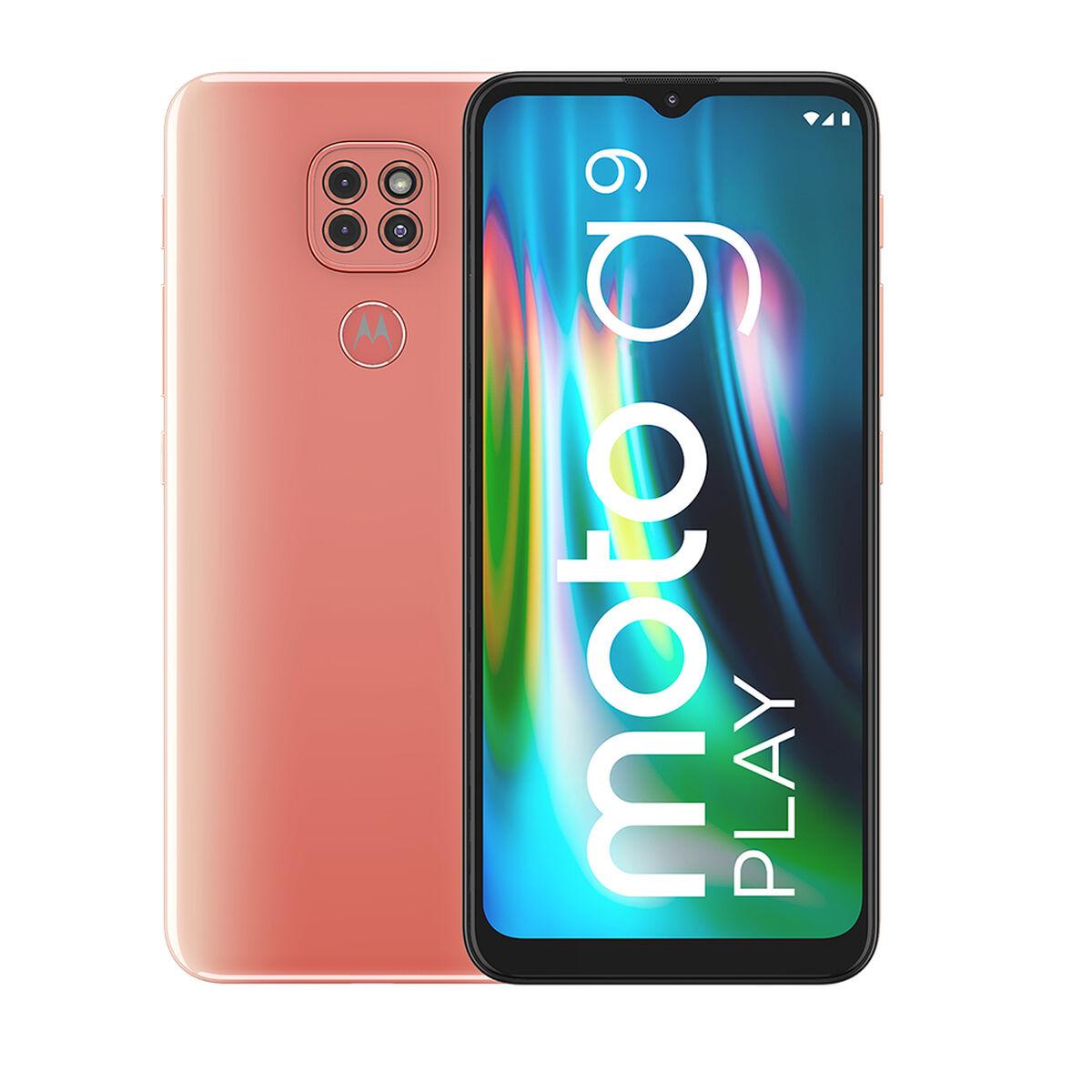 "Celular Motorola Moto G9 Play 64GB 6,5"" Rosa Spring Liberado"