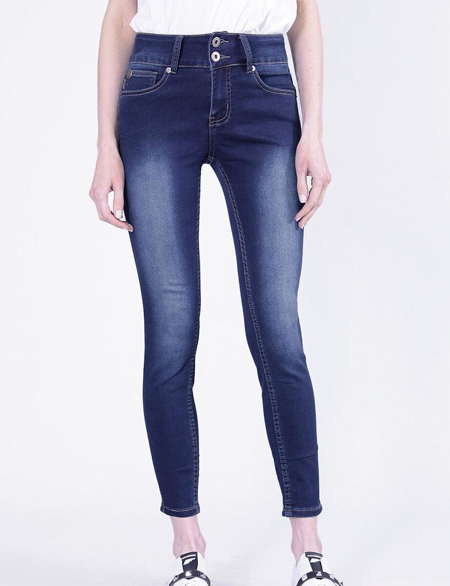 Jeans Ellus Mujer Índigo Básico