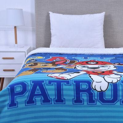 Frazada Polar Sherpa Disney Paw Patrol Niño 150 x 200 cm