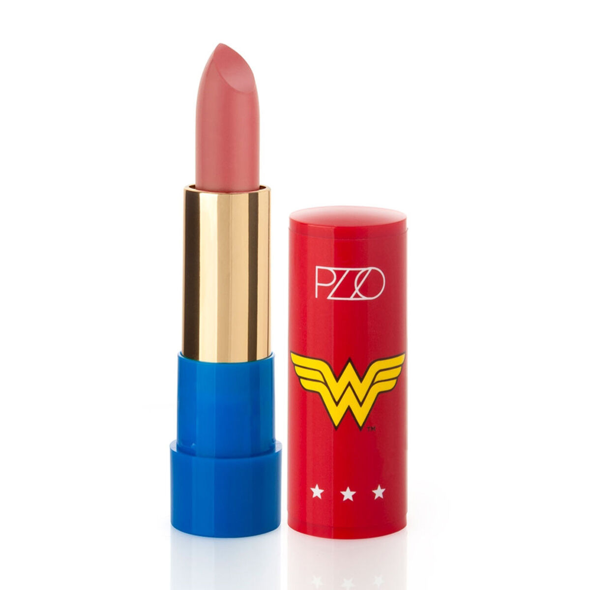 Labial  Rose Matte 3,5 gr Wonder Woman