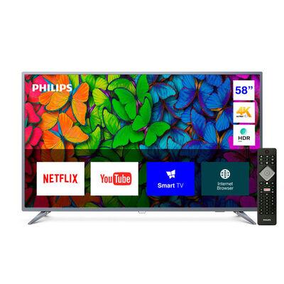 """LED 58"""" Philips 58PUD6513 Smart TV Ultra HD 4K"""