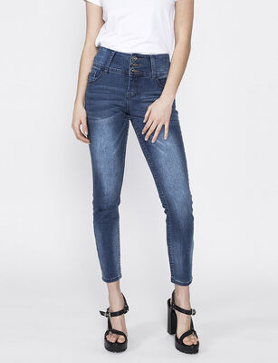Jeans Cropped Mujer Ellus
