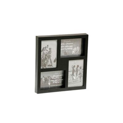 Portaretrato VGO Collage Box 10x15 cm 4 F Negro